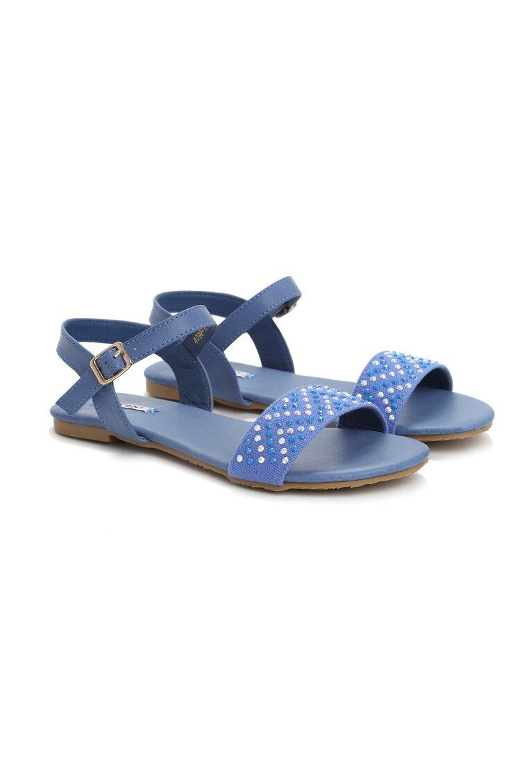 Niebieskie Sandały Mind Games