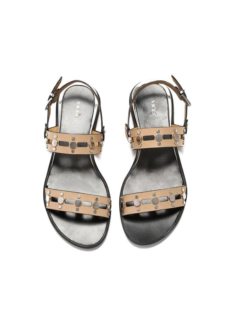 Beżowe Sandały Try Me