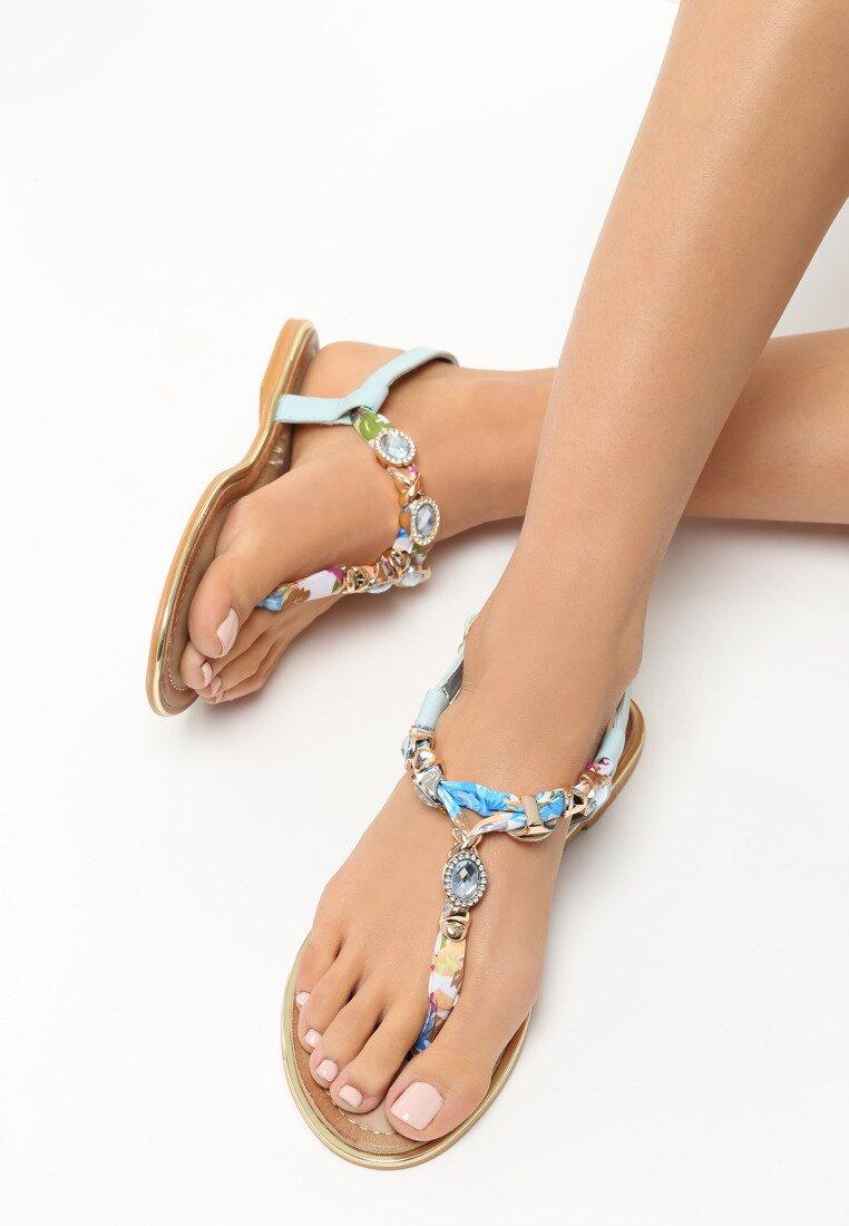 Niebieskie Sandały Dizzle