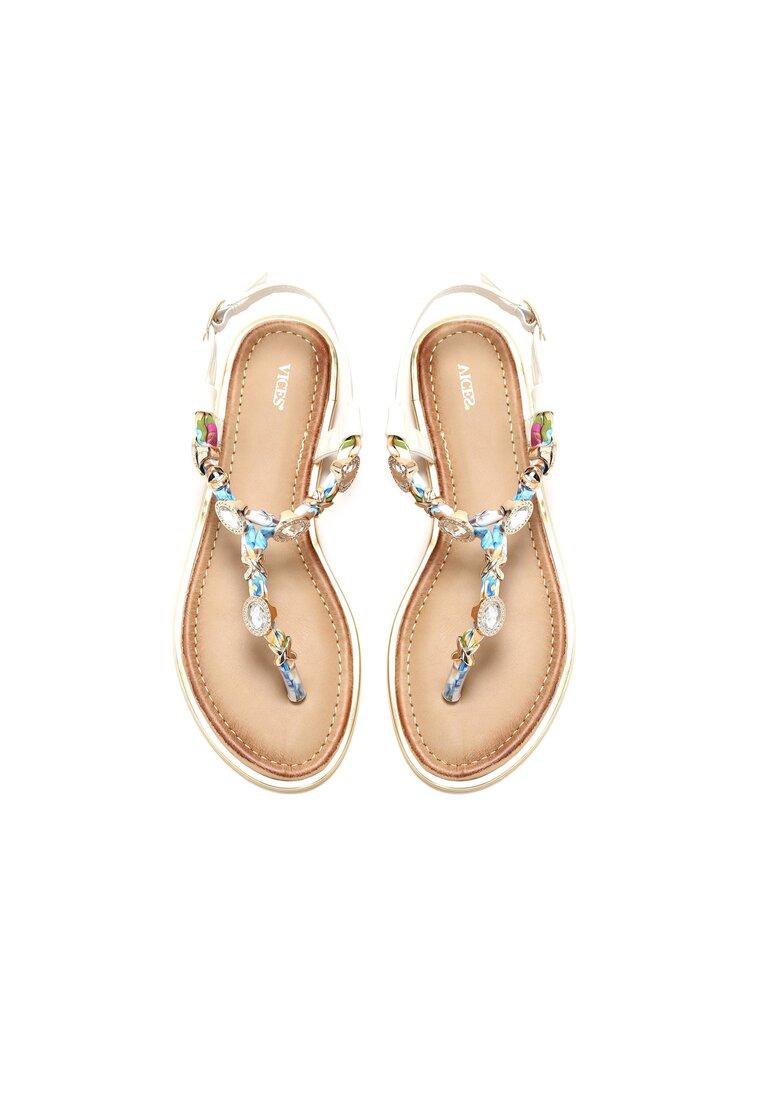 Białe Sandały Dezel