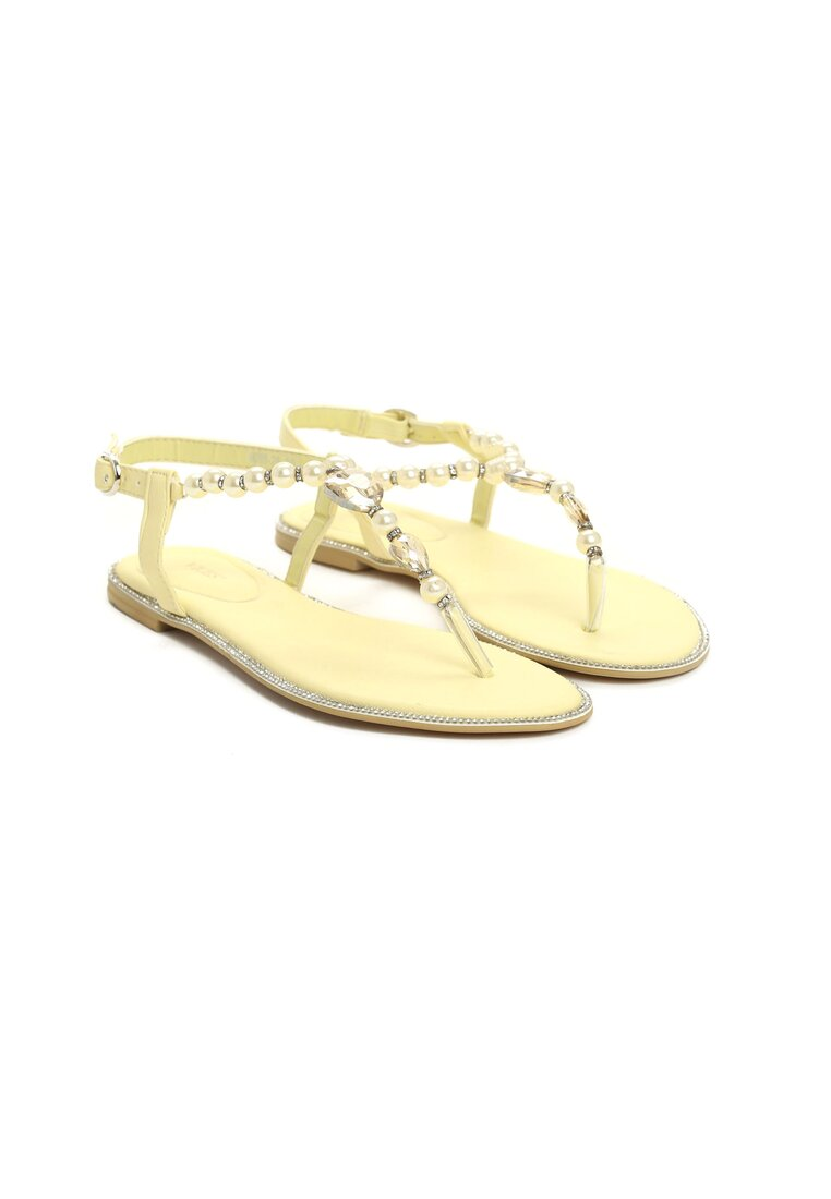 Żółte Sandały Only One Girl