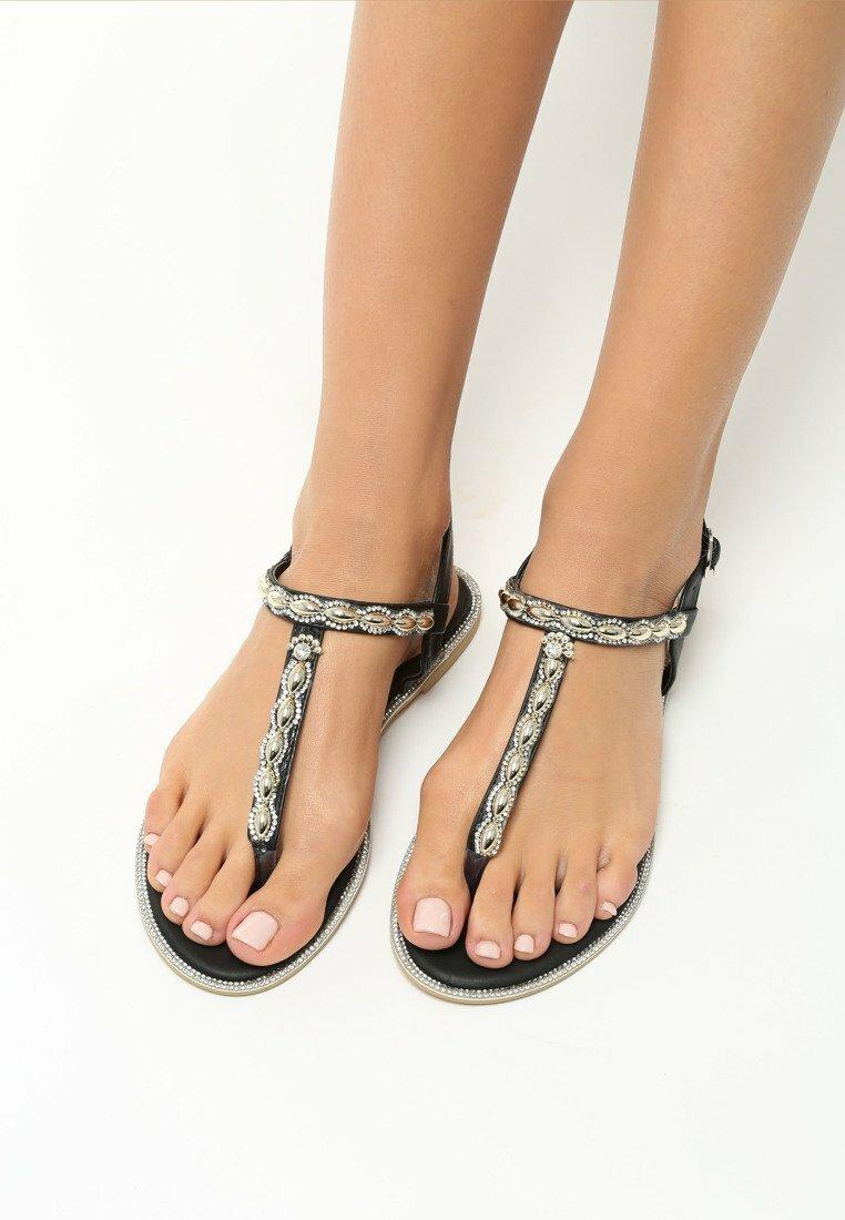 Czarne Sandały Indulge
