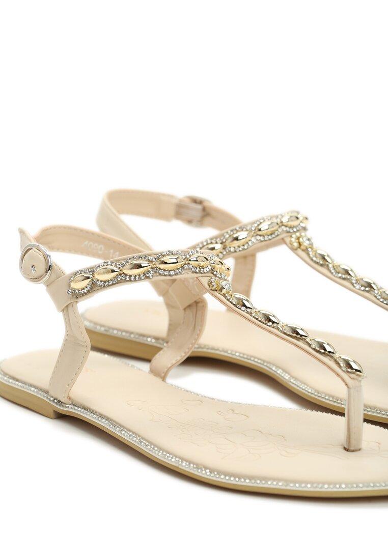 Beżowe Sandały Indulge