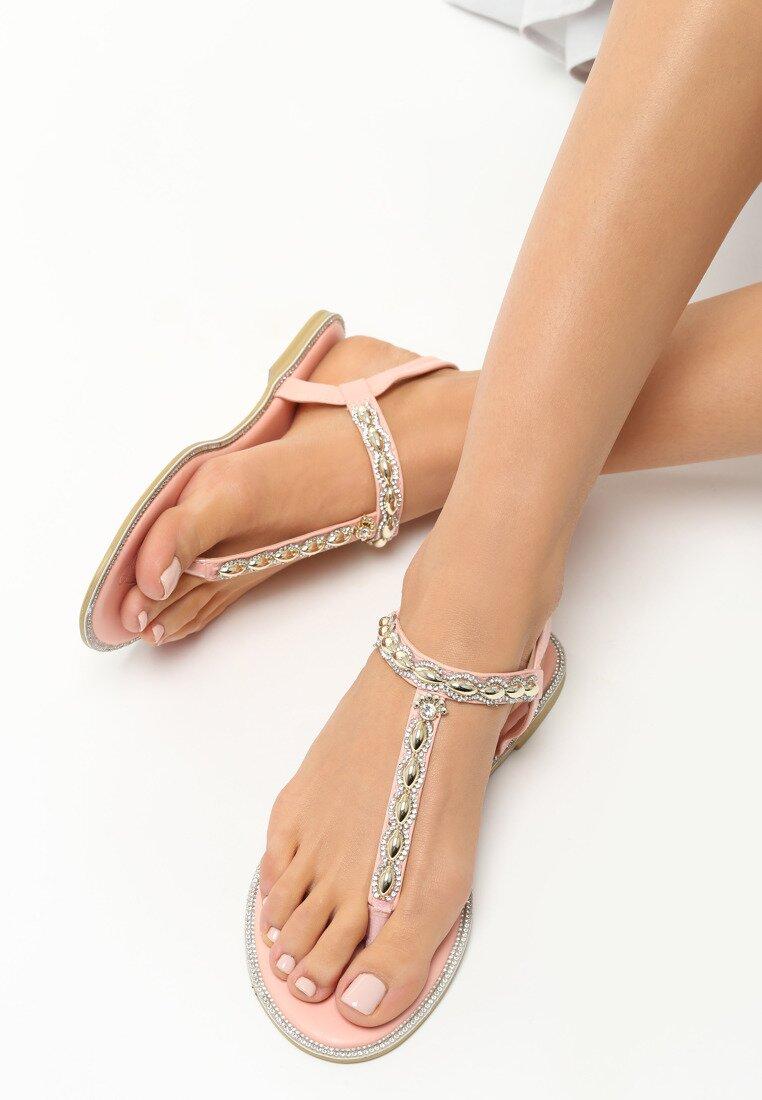 Różowe Sandały Indulge