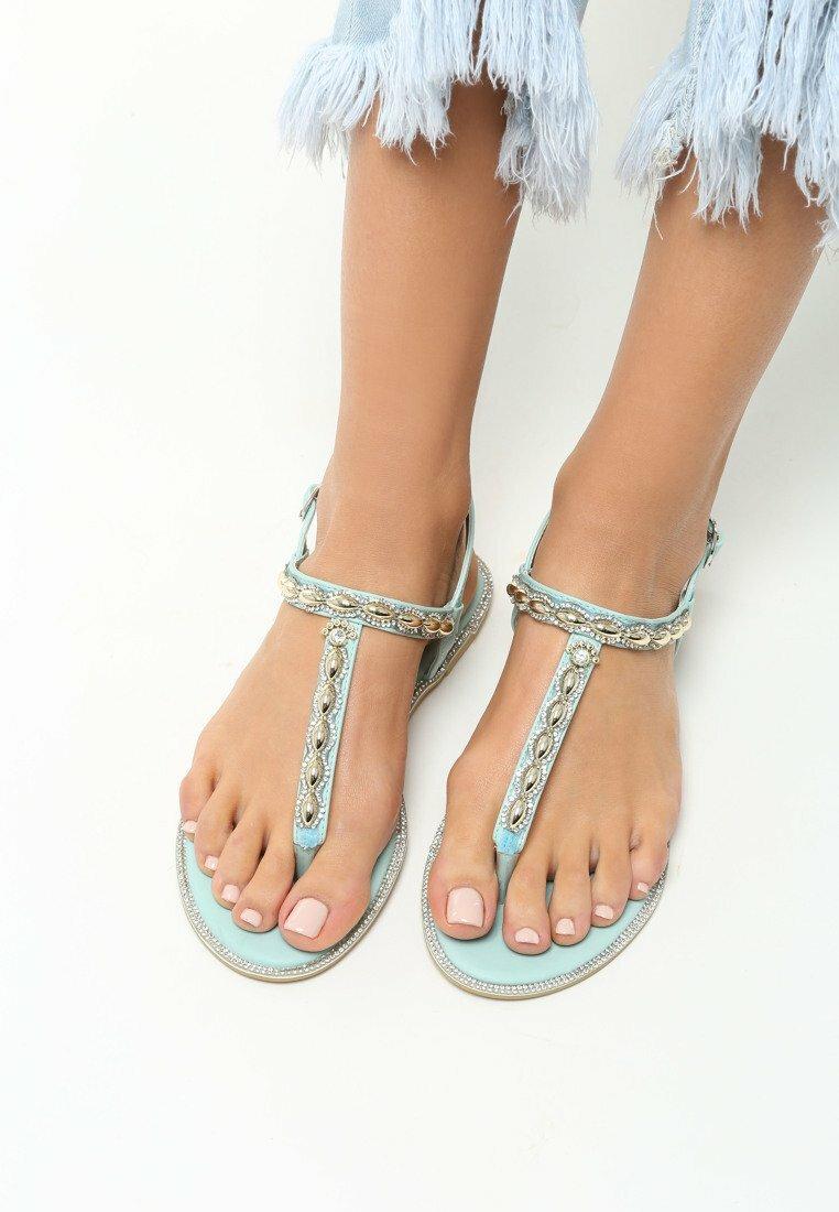 Niebieskie Sandały Indulge