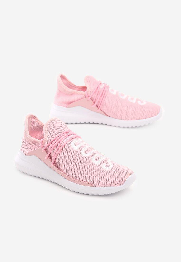 Różowe Buty Sportowe Entien