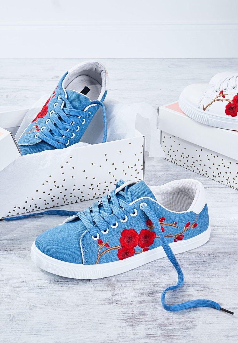 Niebieskie Buty Sportowe Seed