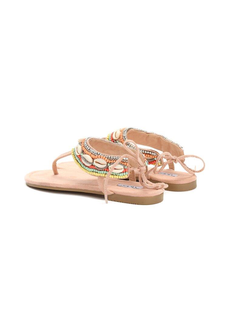 Różowe Sandały Incredulous