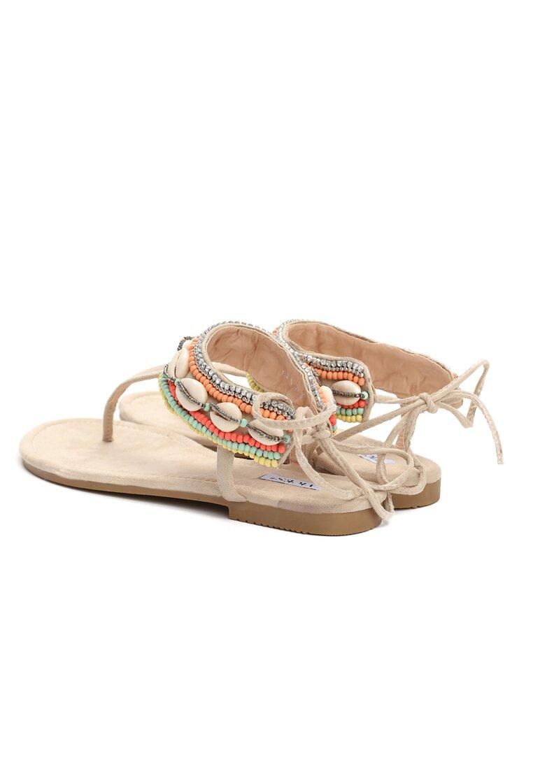 Beżowe Sandały Incredulous