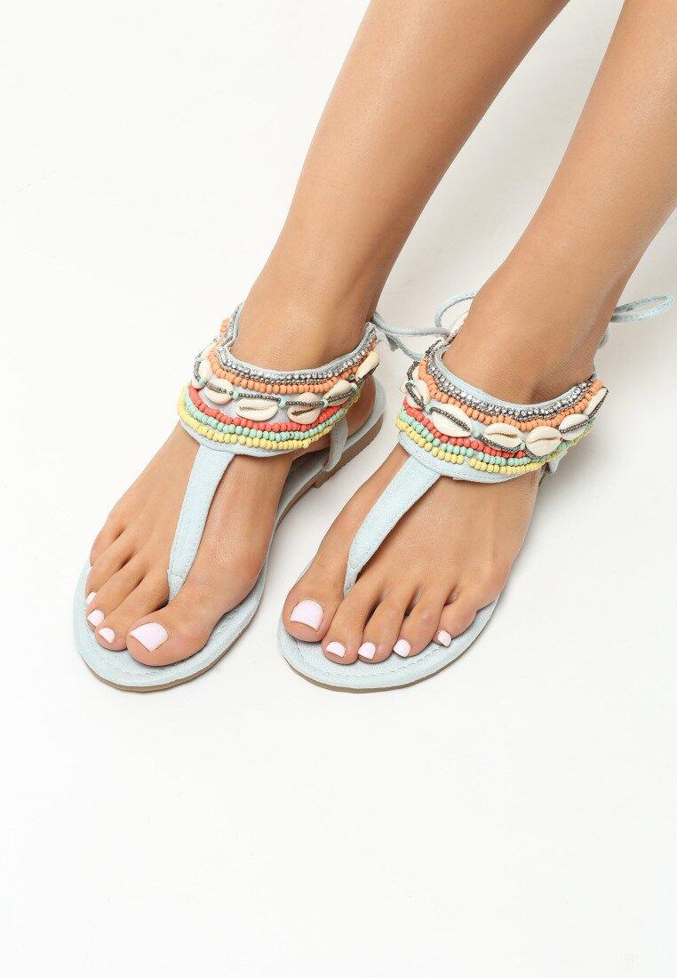 Jasnoniebieskie Sandały Incredulous