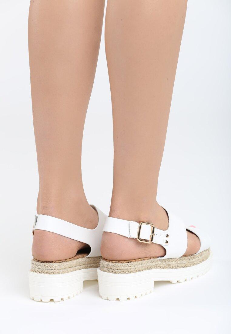 Białe Sandały Supremacy