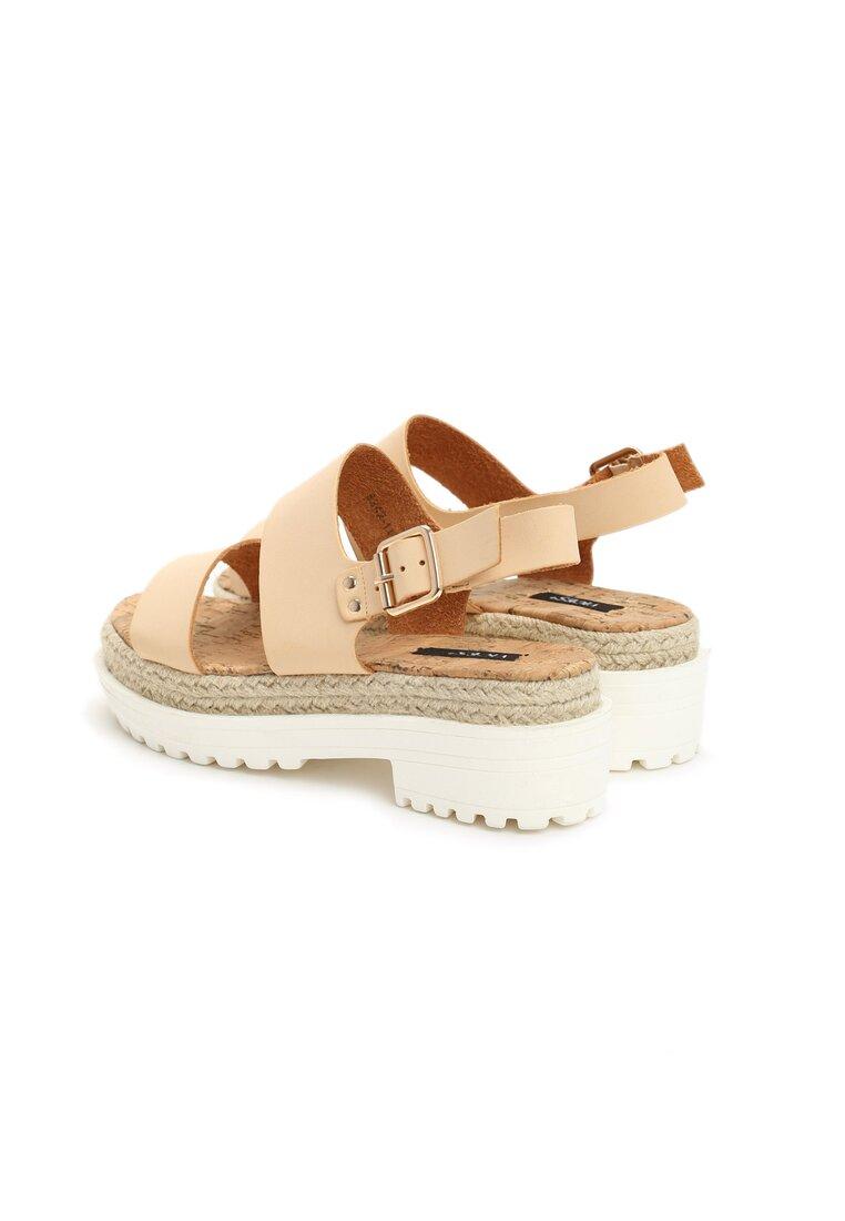 Beżowe Sandały Supremacy