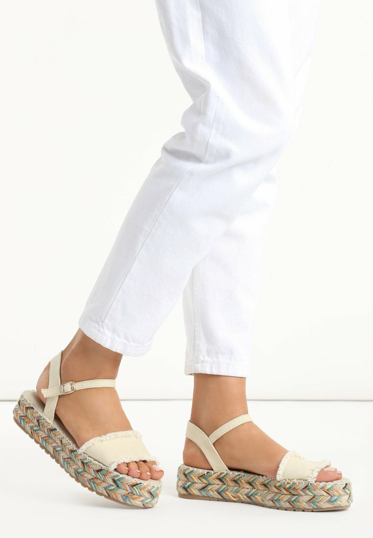 Beżowe Sandały Free Publicity