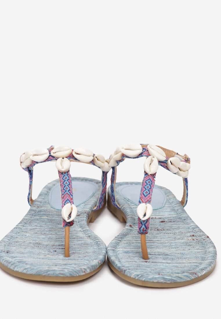 Niebieskie Sandały Luxuriant
