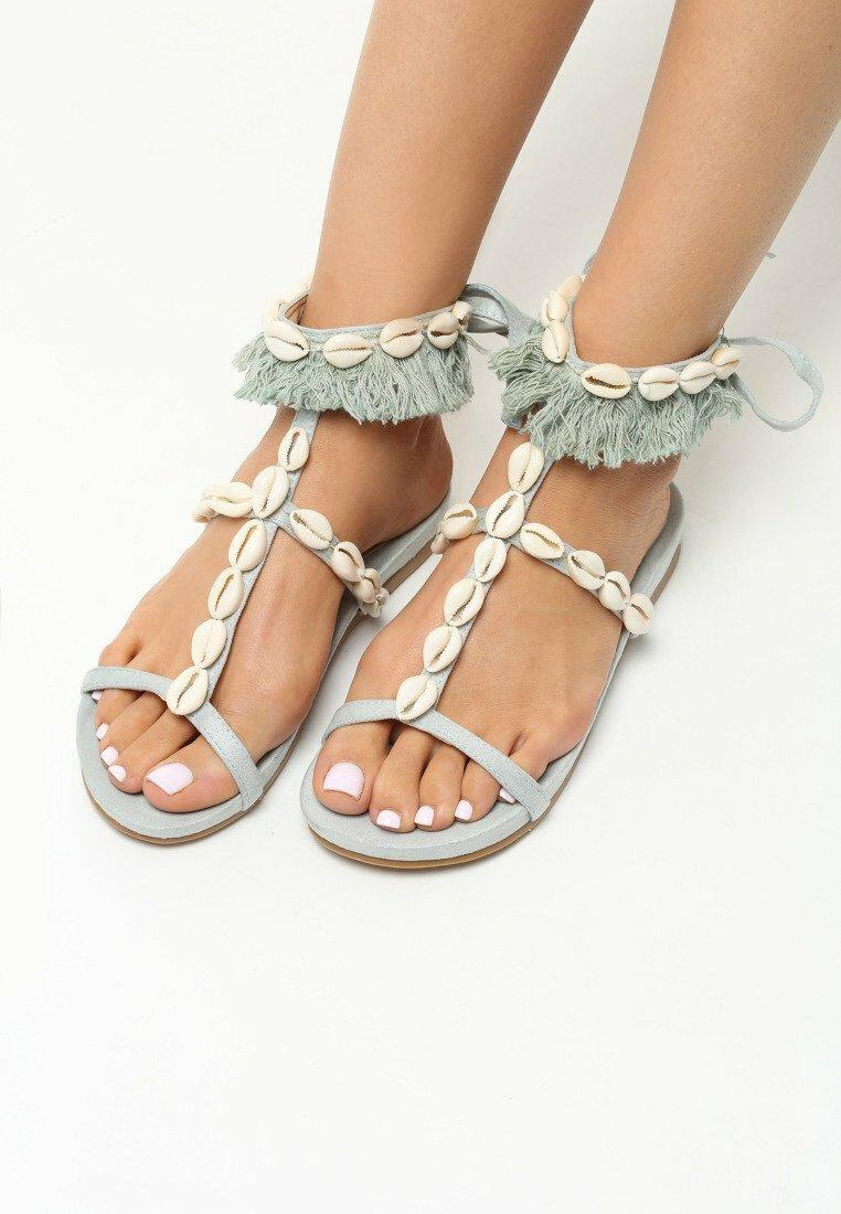 Jasnoniebieskie Sandały Mistresses