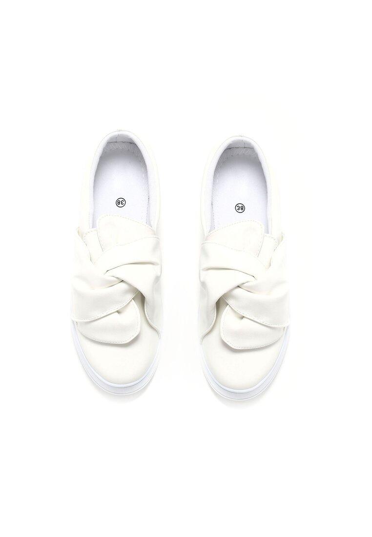 Białe Slip On Dormiveglia
