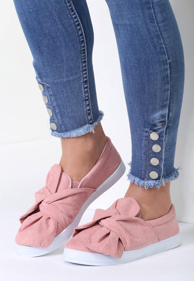 Różowe Slip On Juko