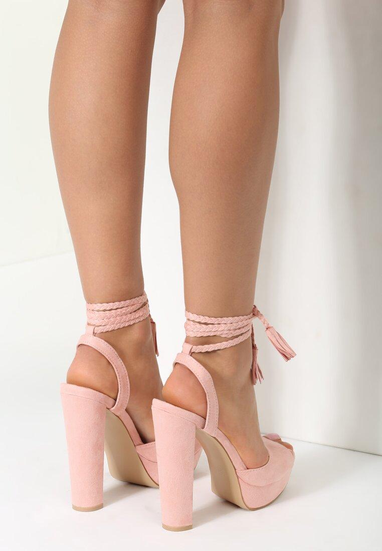 Różowe Sandały Carion