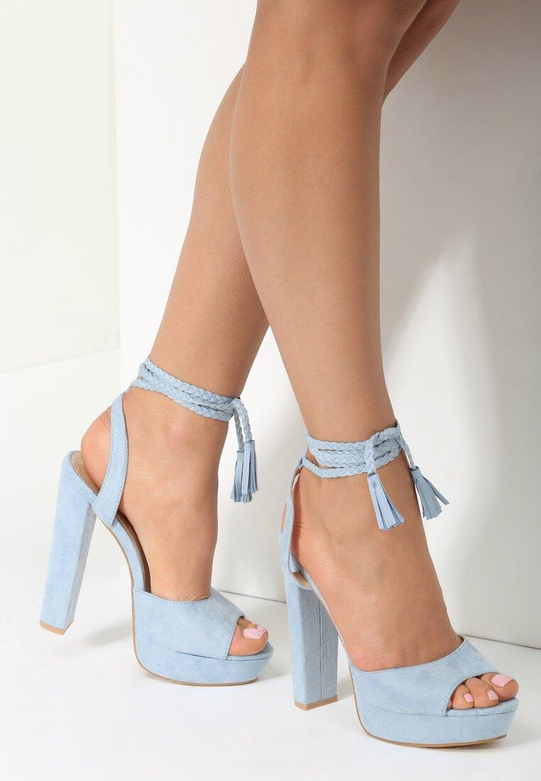 Niebieskie Sandały Carion