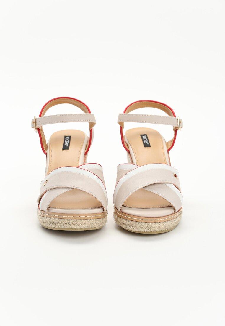 Beżowe Sandały Elixir