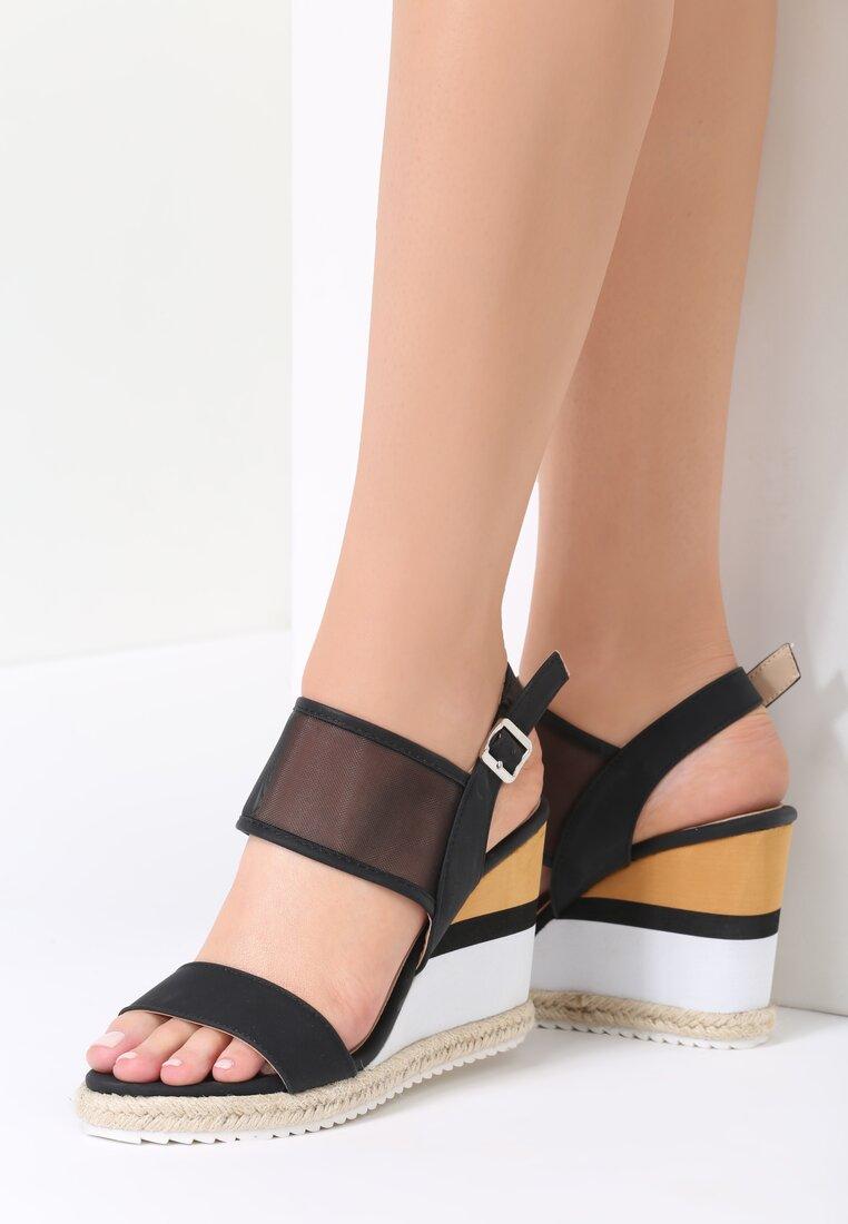 Czarne Sandały Little Miss