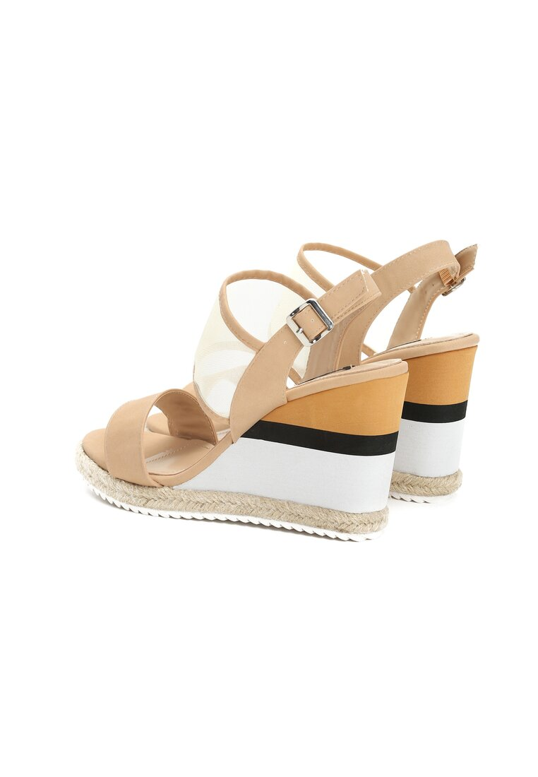 Beżowe Sandały Little Miss