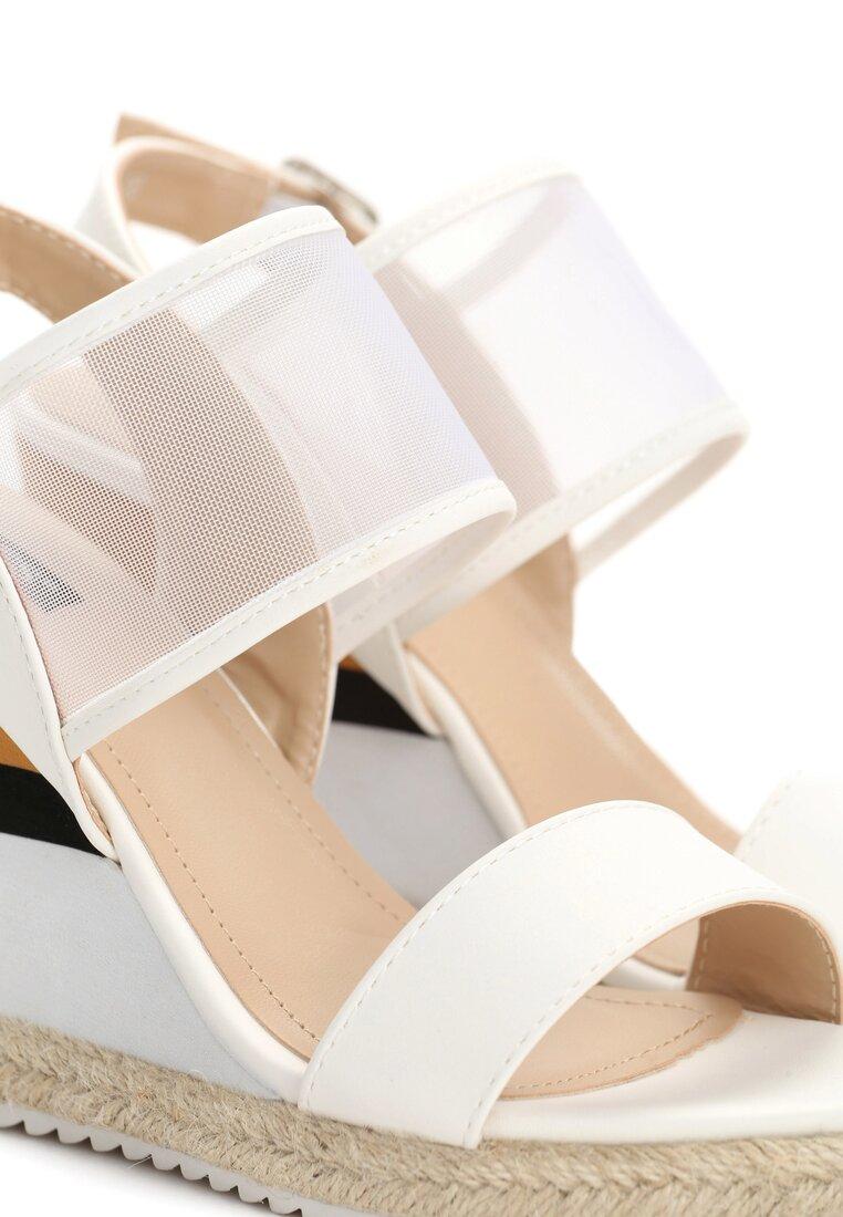 Białe Sandały Brumous