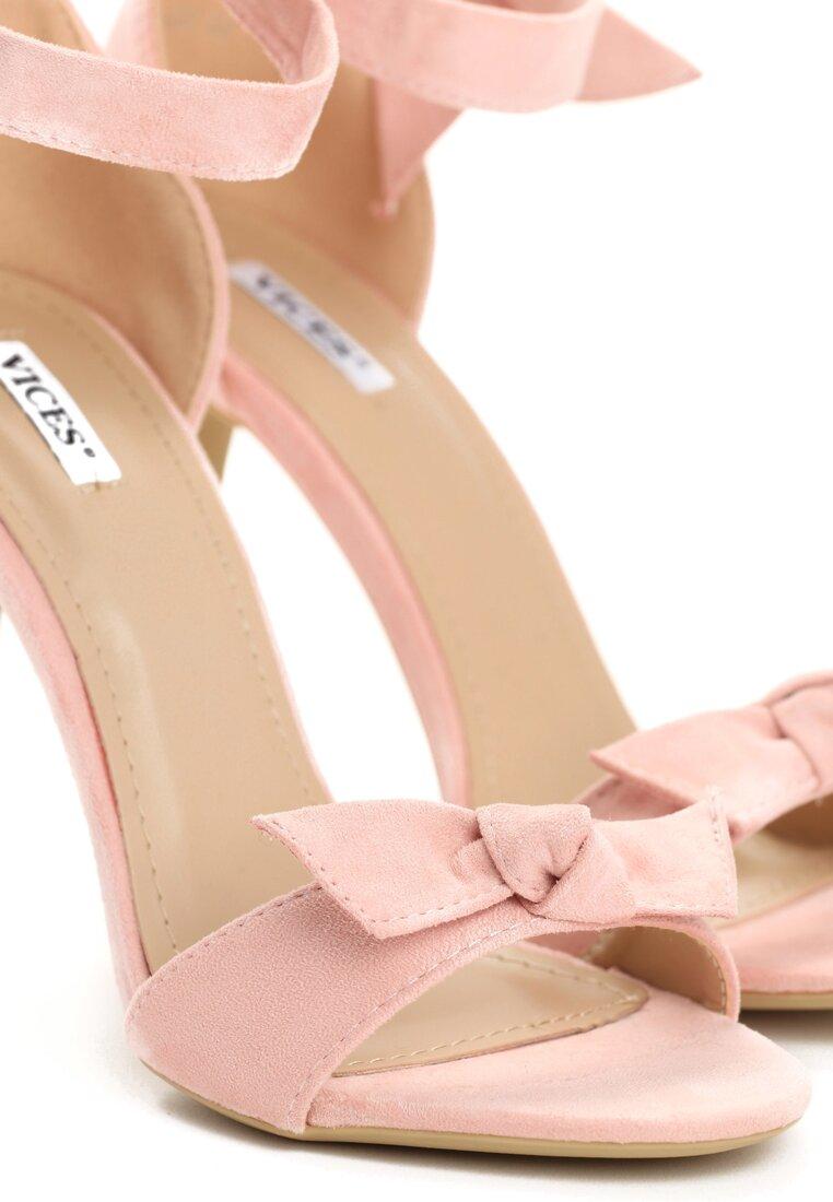 Różowe Sandały Listen To Earth