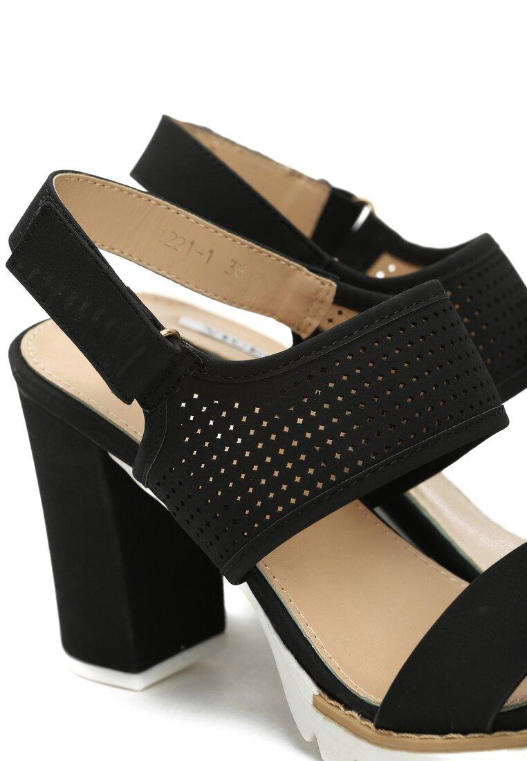 Czarne Sandały Tough Life