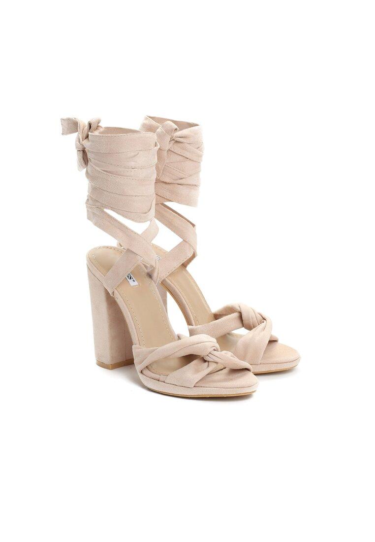 Beżowe Sandały Dancing Queen