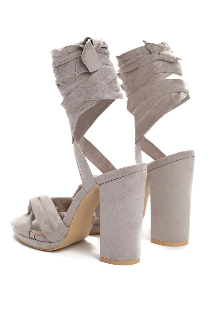 Szare Sandały Dancing Queen