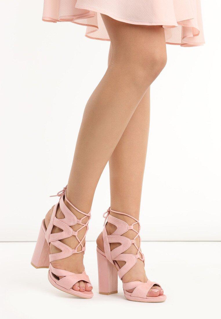 Różowe Sandały No Control