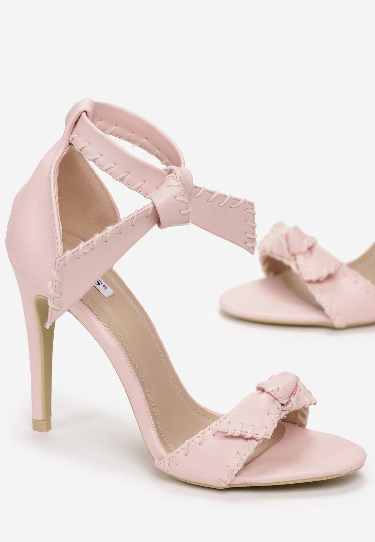 Różowe Sandały Mercy