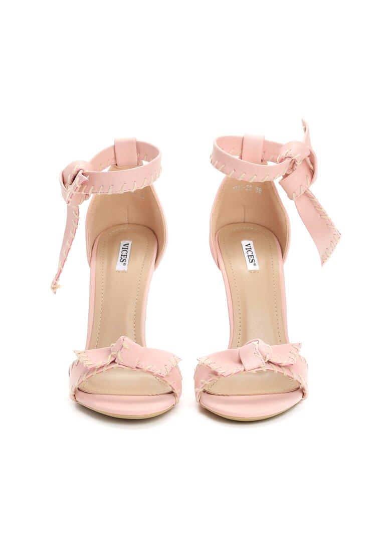 Różowe Sandały Dropping A Sound