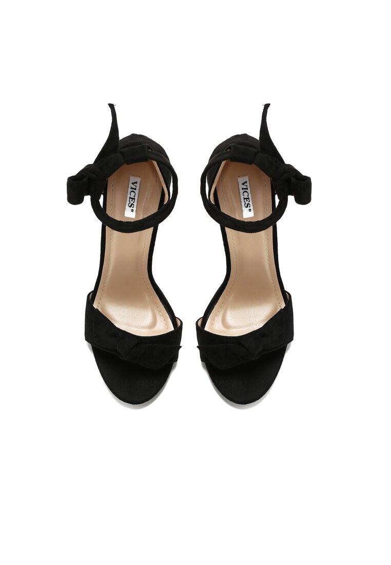 Czarne Sandały Lietta