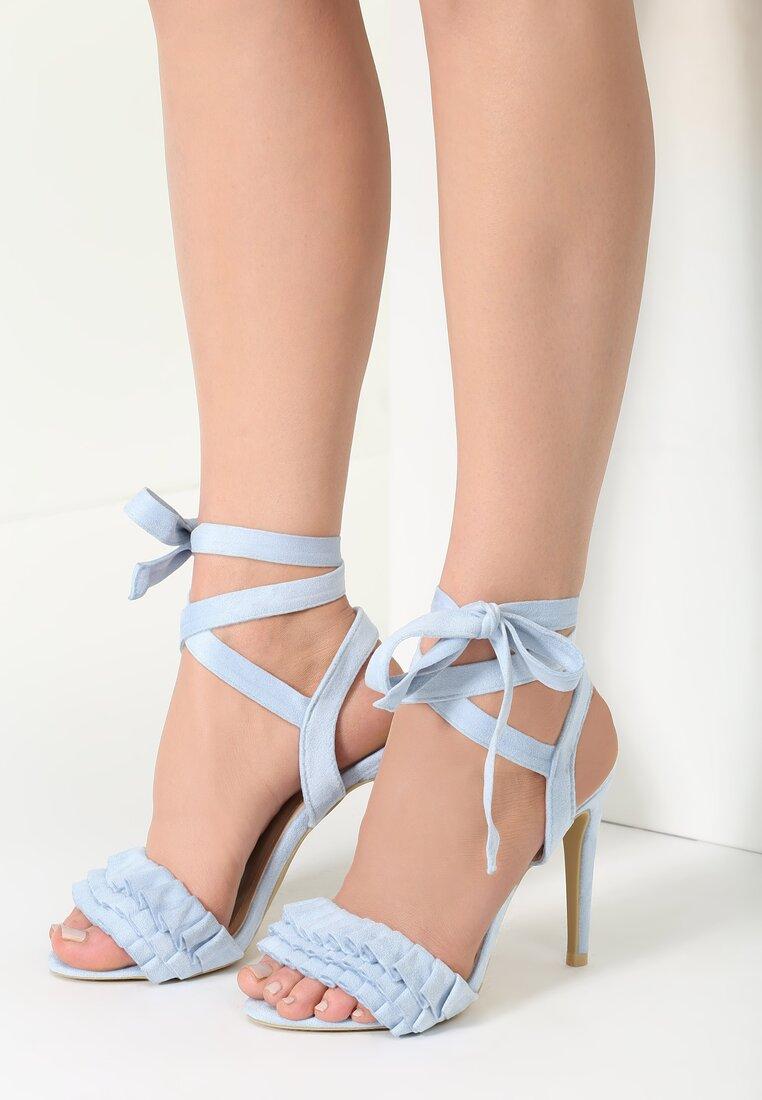 Błękitne Sandały Enthusiasm