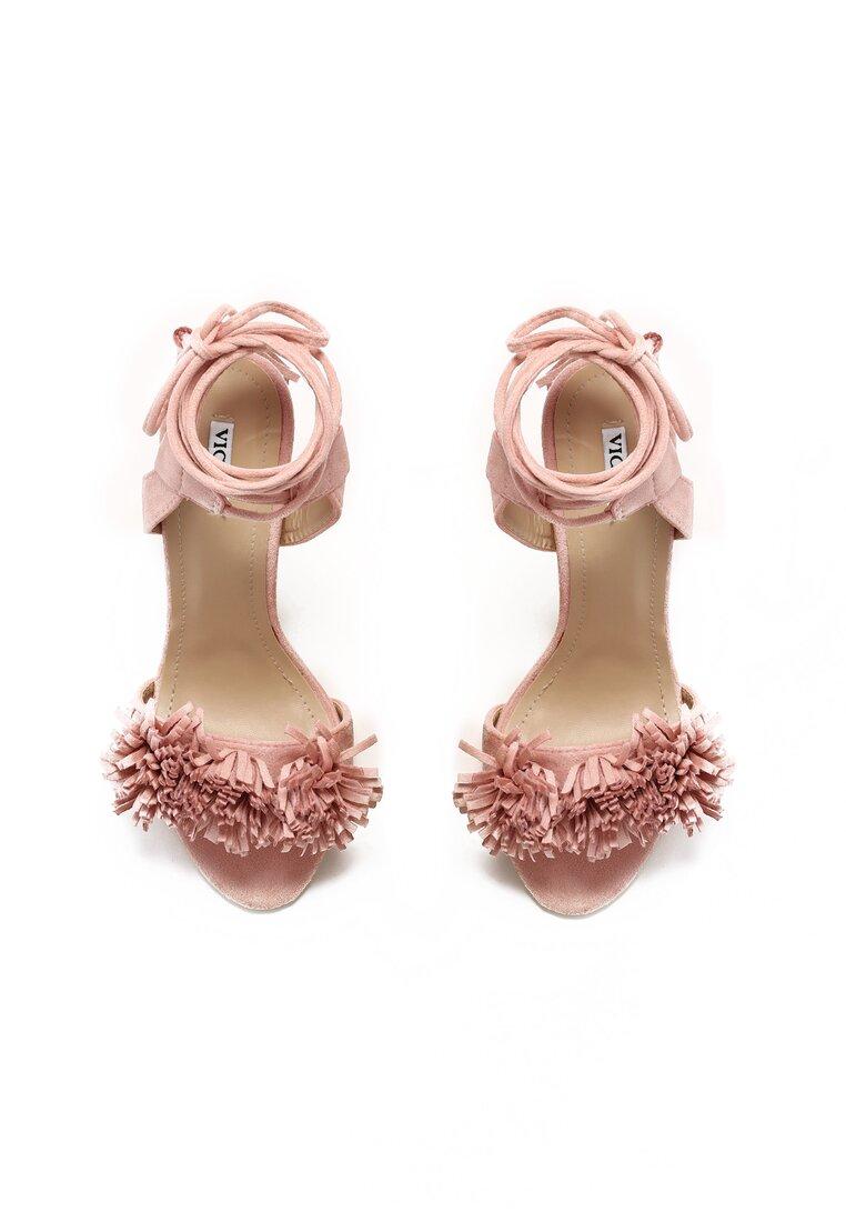 Różowe Sandały Elision