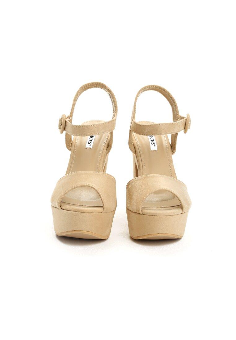Beżowe Sandały Wildside