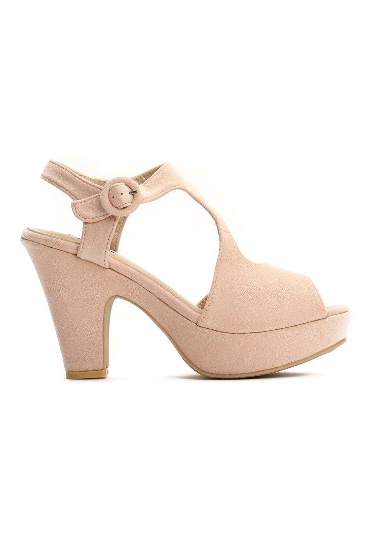Beżowe Sandały Lavish