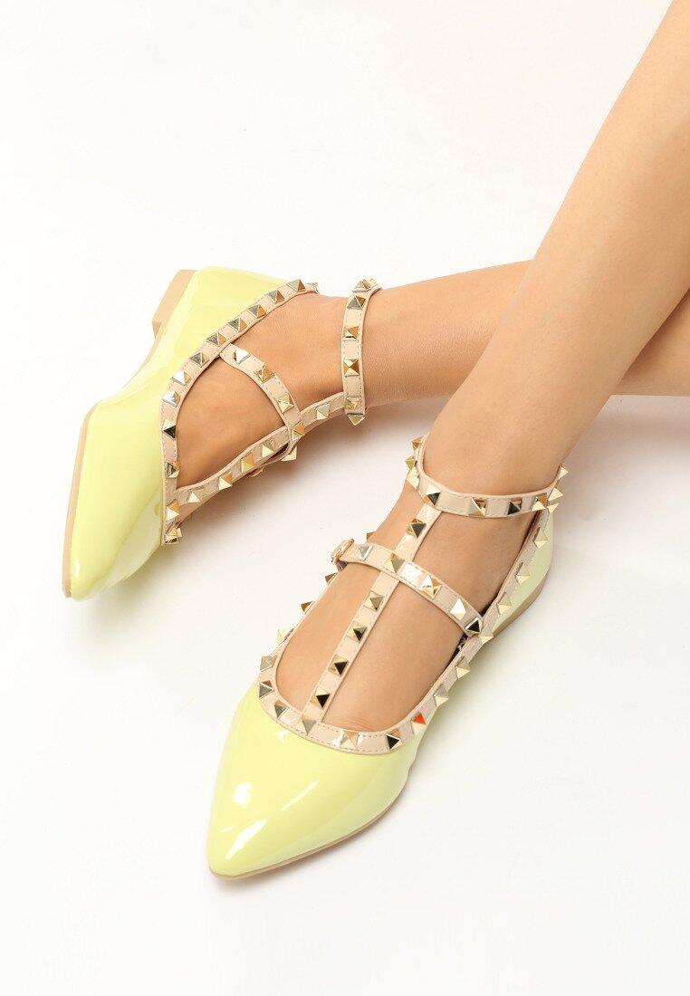 Limonkowe Baleriny Arni