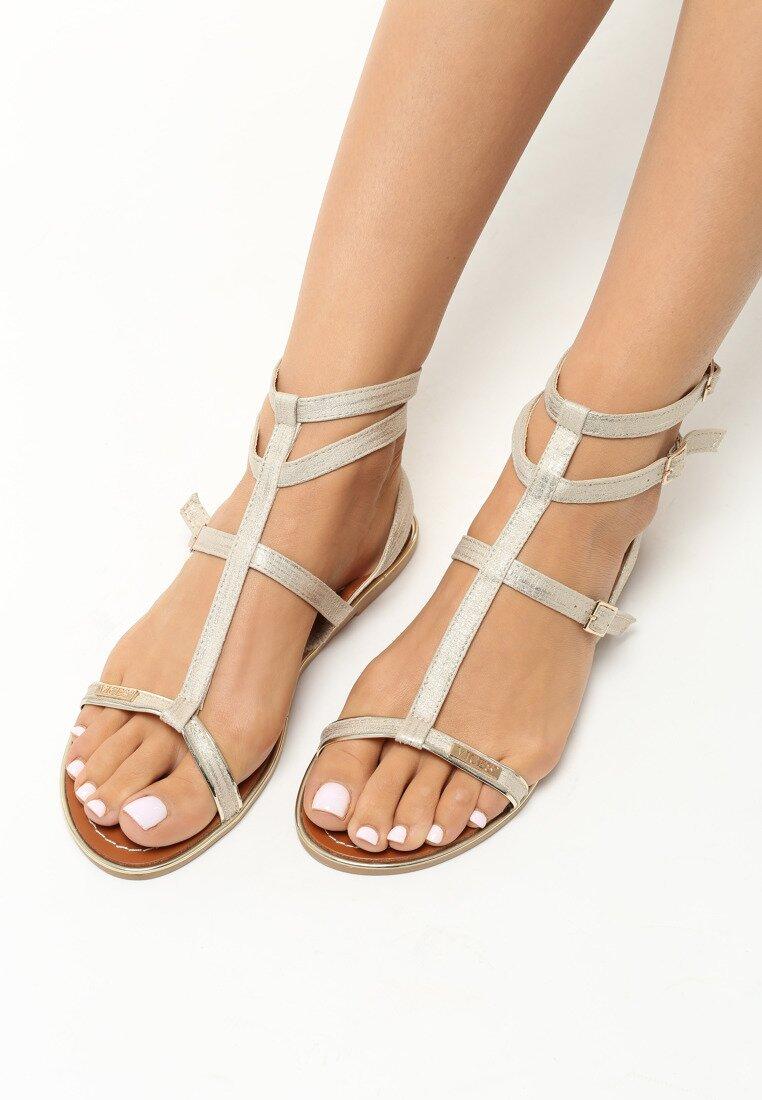 Beżowe Sandały Felicitate