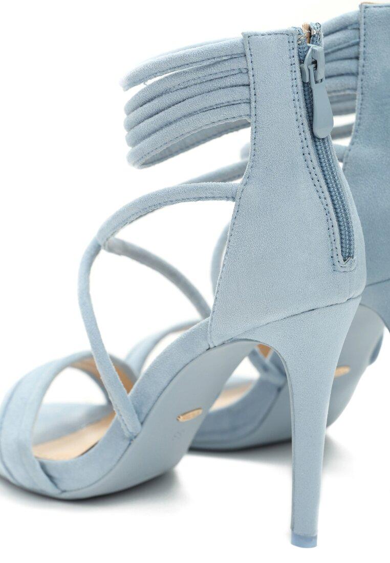 Niebieskie Sandały Not Words