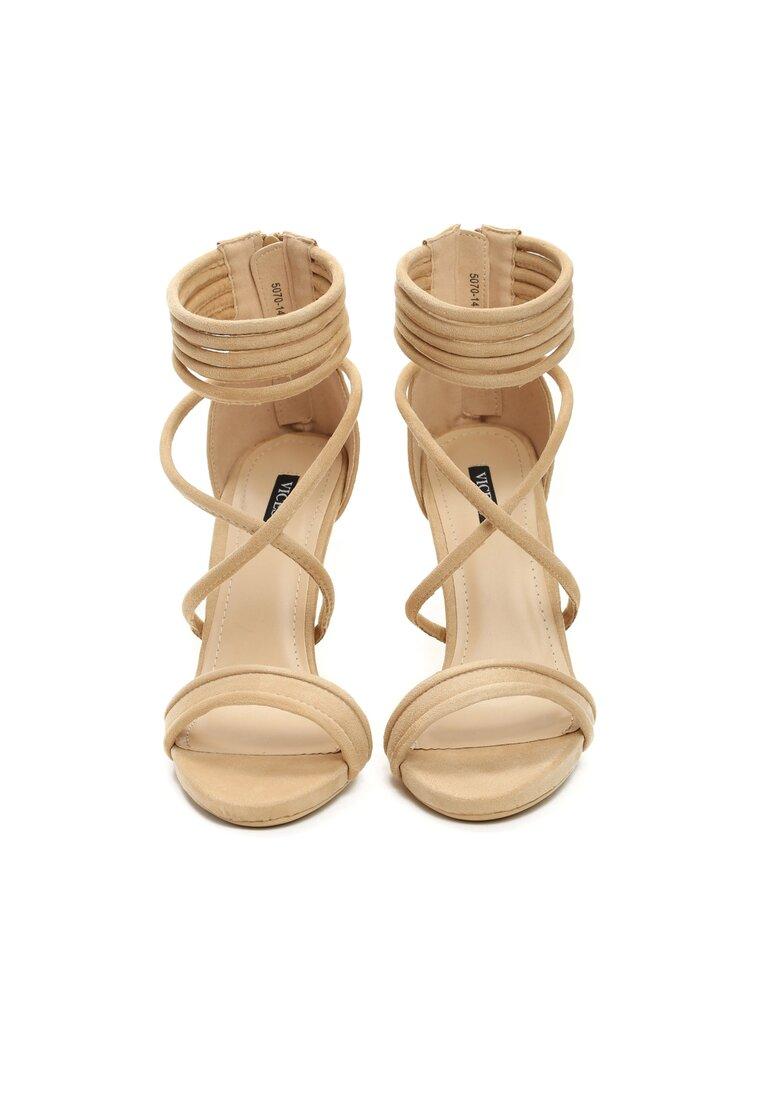 Beżowe Sandały Not Words