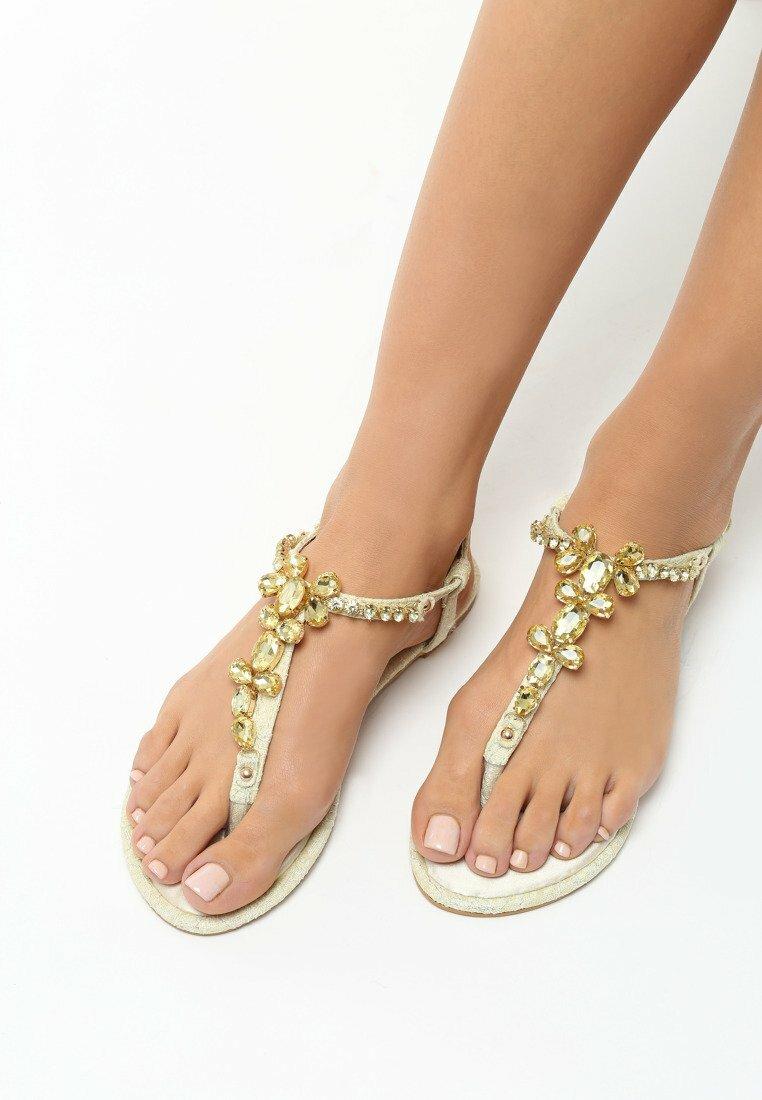 Beżowe Sandały Prosperous