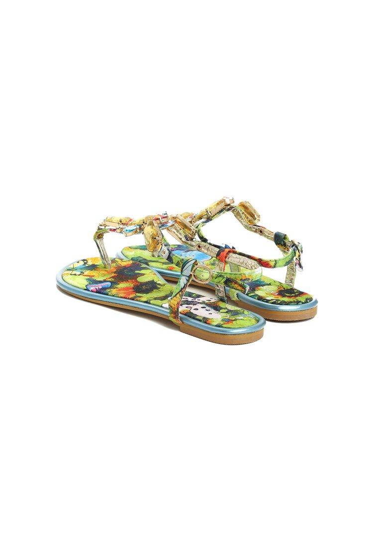 Niebieskie Sandały Vanee
