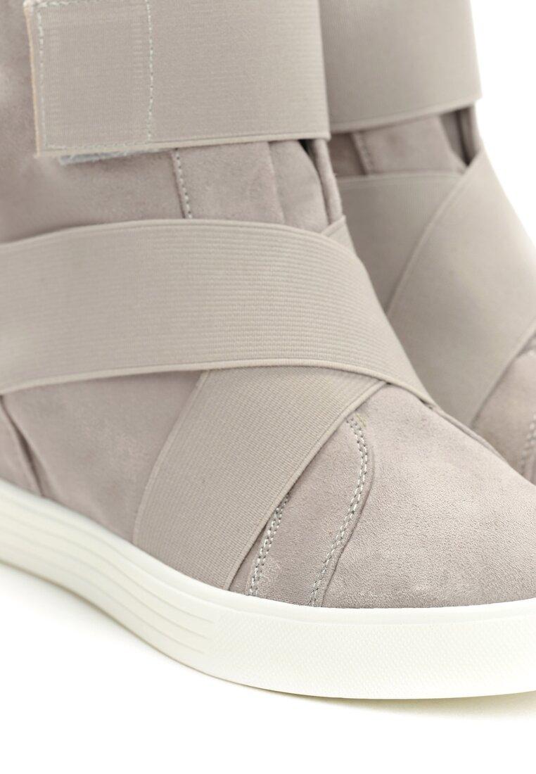 Szare Sneakersy Scarlett