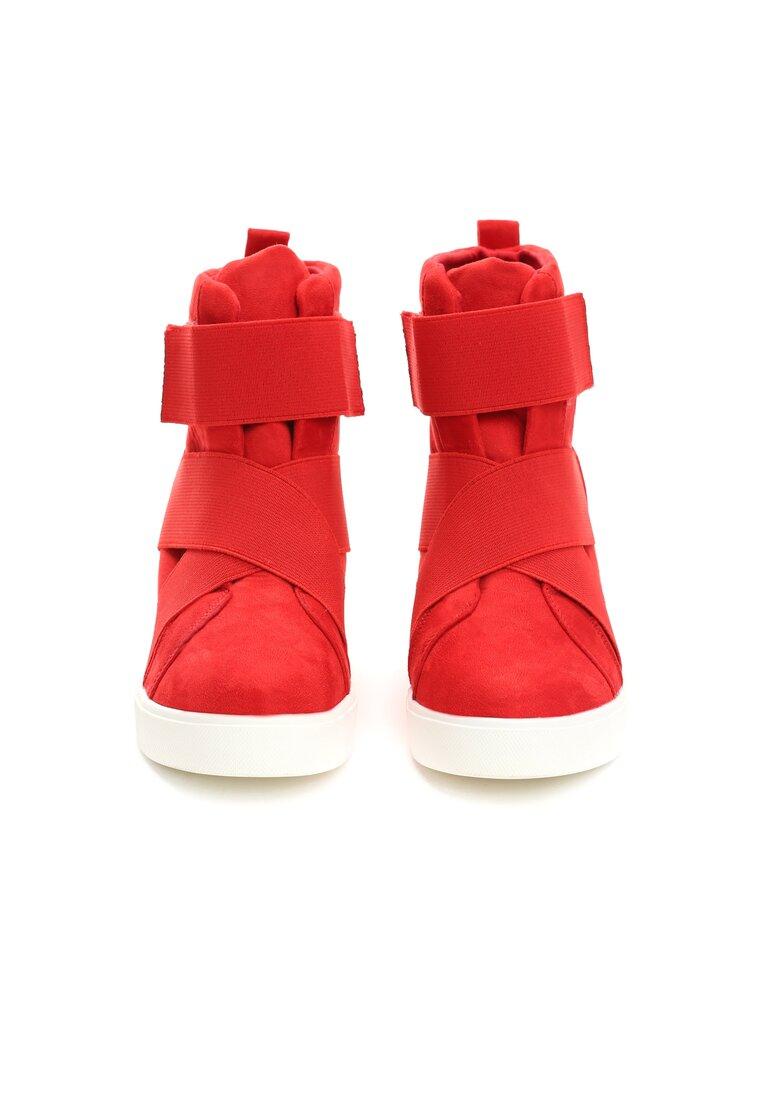 Czerwone Sneakersy Merni