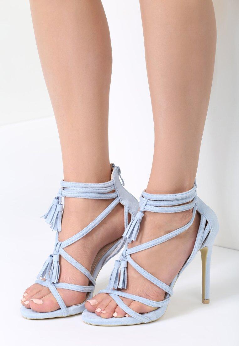 Niebieskie Sandały Wiren