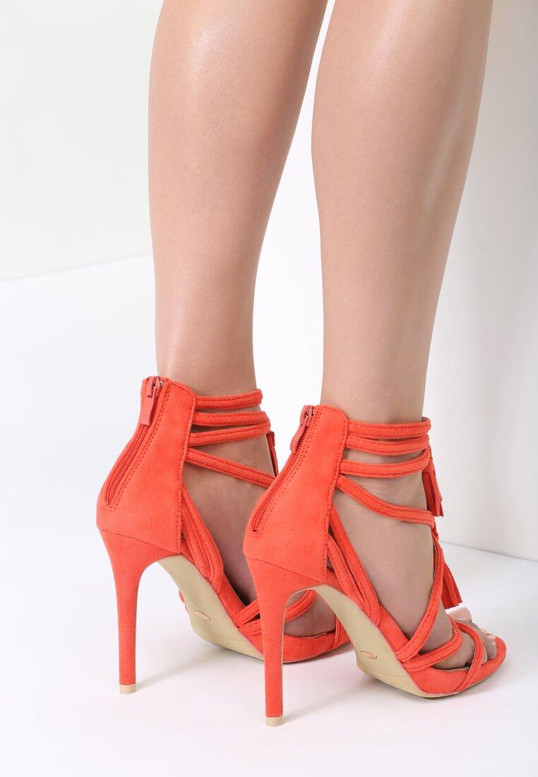 Koralowe Sandały Wiren