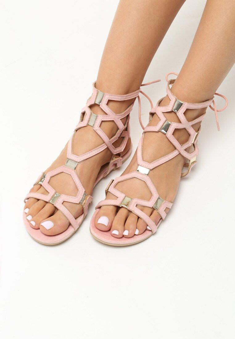 Różowe Sandały Come Across